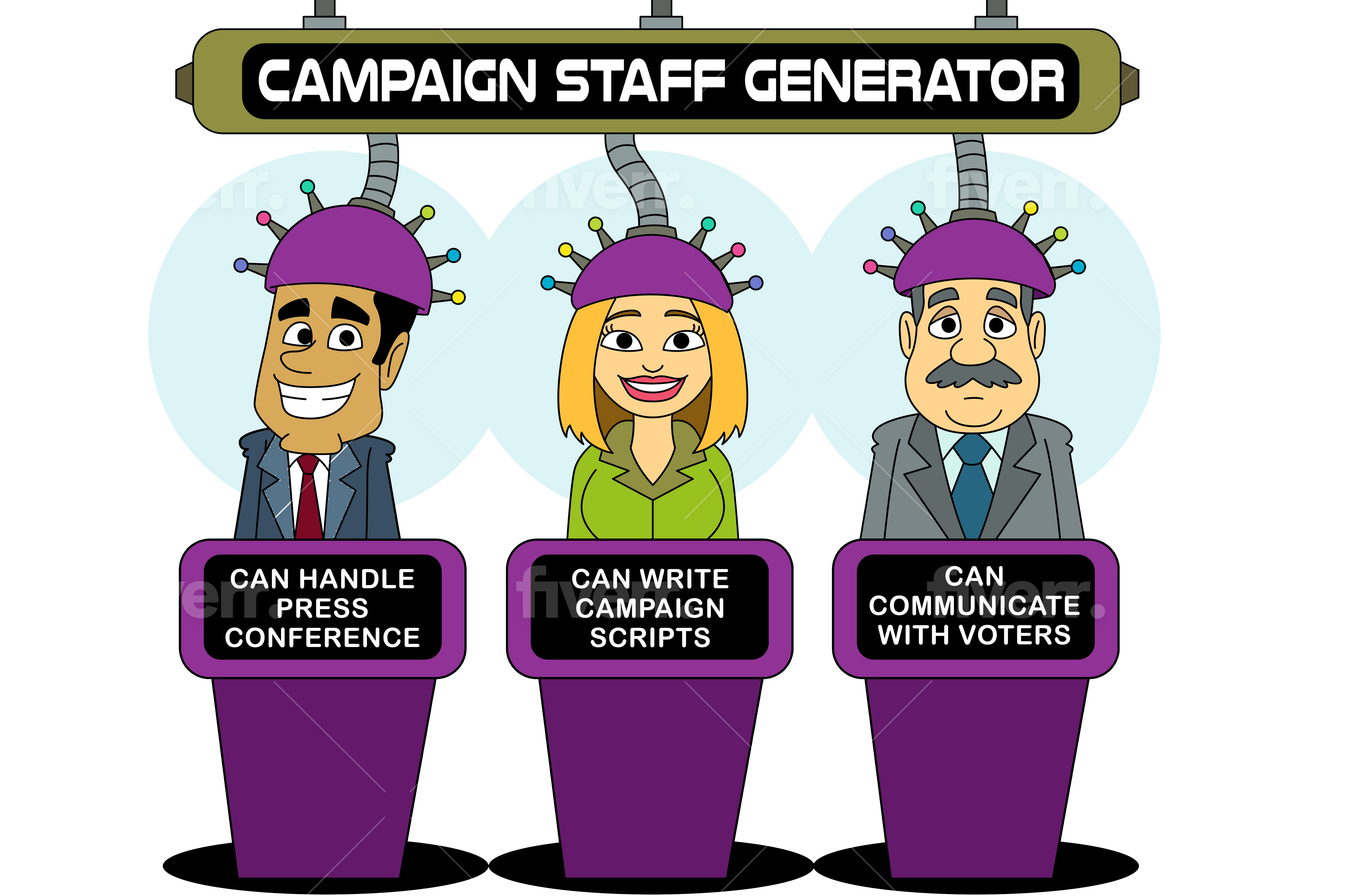 Political Campaign Staff: Structure, Rolls, Salaries, Consultants